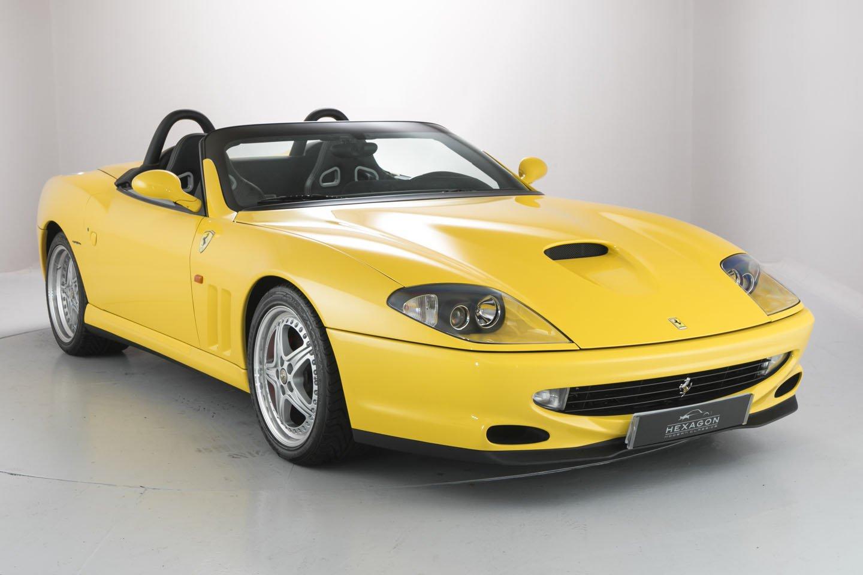 LowMileage Ferrari 550 Barchetta Pininfarina For Sale, It\u002639;s Marvellous  autoevolution
