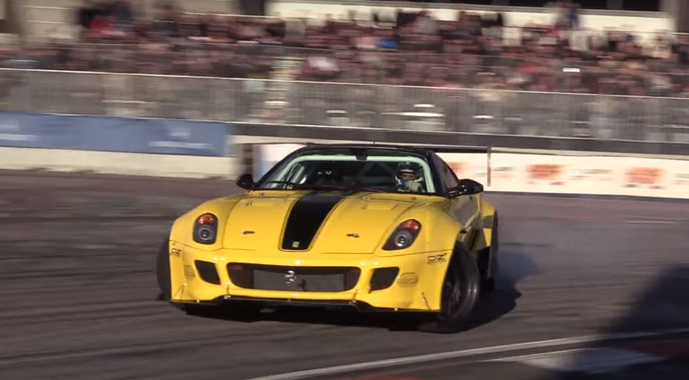Ferrari 599 Formula Drift Car with Twin-Supercharged V12 Sounds Bewildering - autoevolution