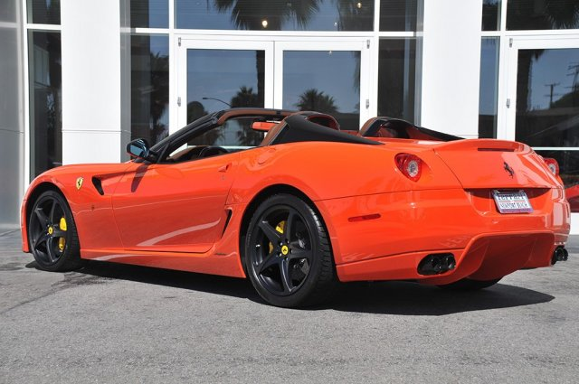 Ferrari 599 Sa Aperta For Sale In California Autoevolution