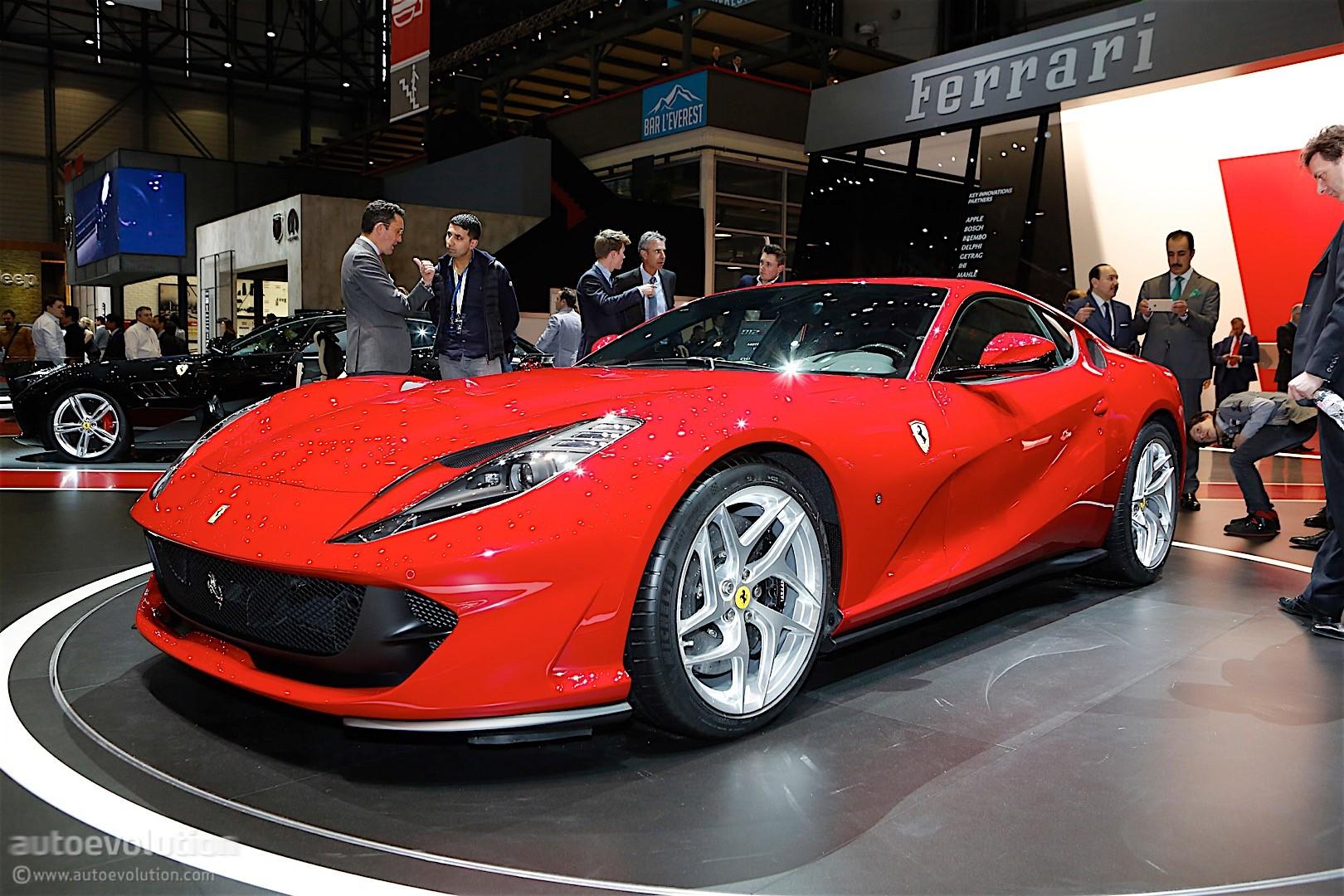 Ferrari 812 Superfast Aero, Engine and Dynamics Detailed ...