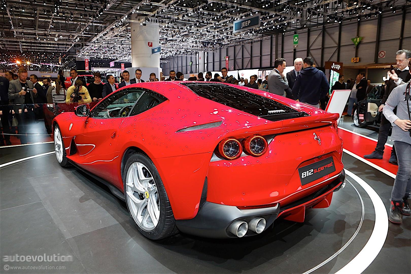 Ferrari 812 Superfast Looks Magnificent In Monaco ...