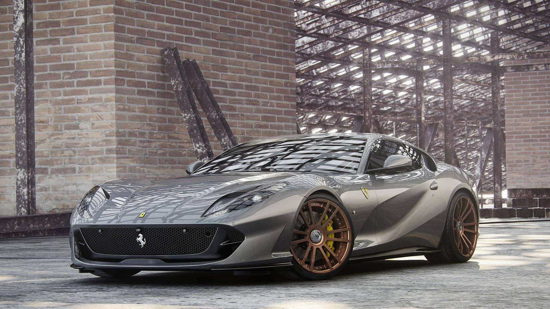 Black Ferrari 812 Superfast >> Ferrari 812 Superfast Becomes Superforte Thanks To Wheelsandmore - autoevolution