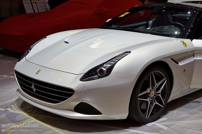 Ferrari California T Brings Its Turbos to Geneva [Live ...