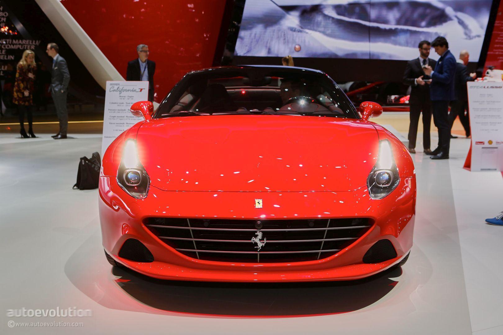 Ferrari california t handling speciale in geneva ferrari california t handling speciale in geneva