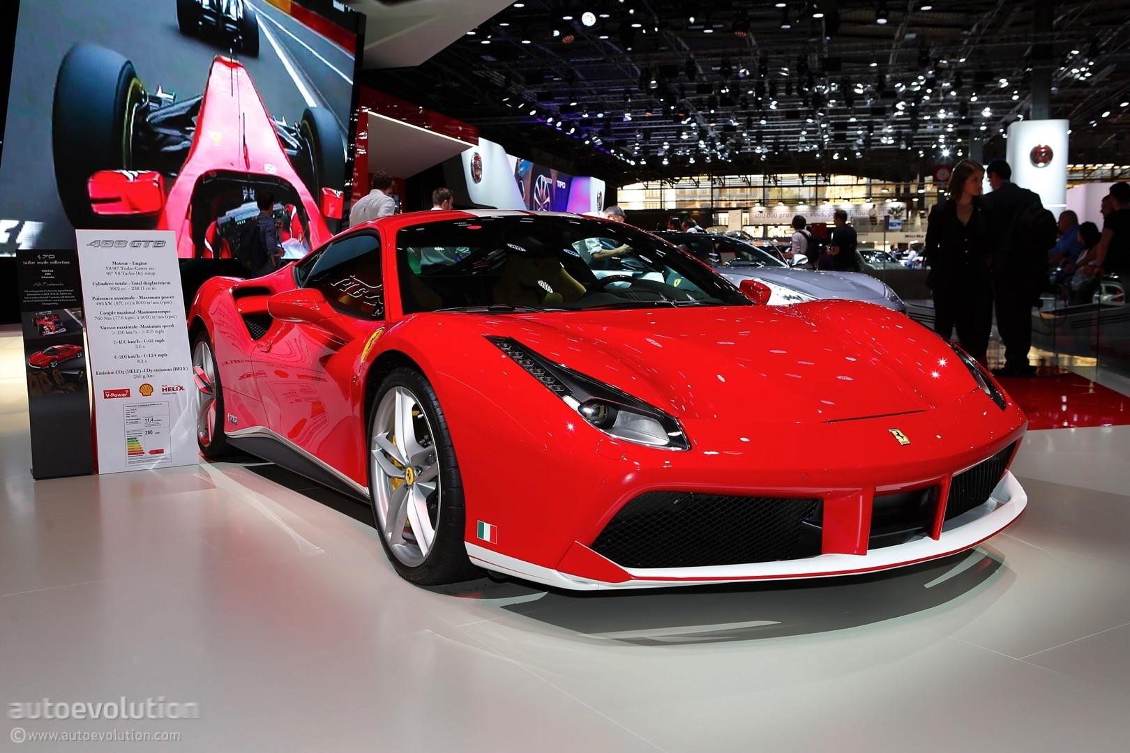 Ferrari F40 For Sale >> Ferrari Celebrates 70th Anniversary In Paris With Special ...