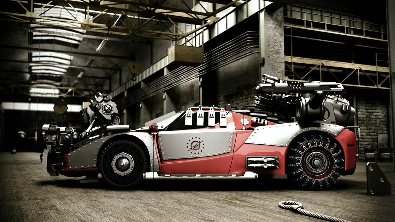 Ferrari Enzo Gets A 3d Apocalypse Treatment Autoevolution