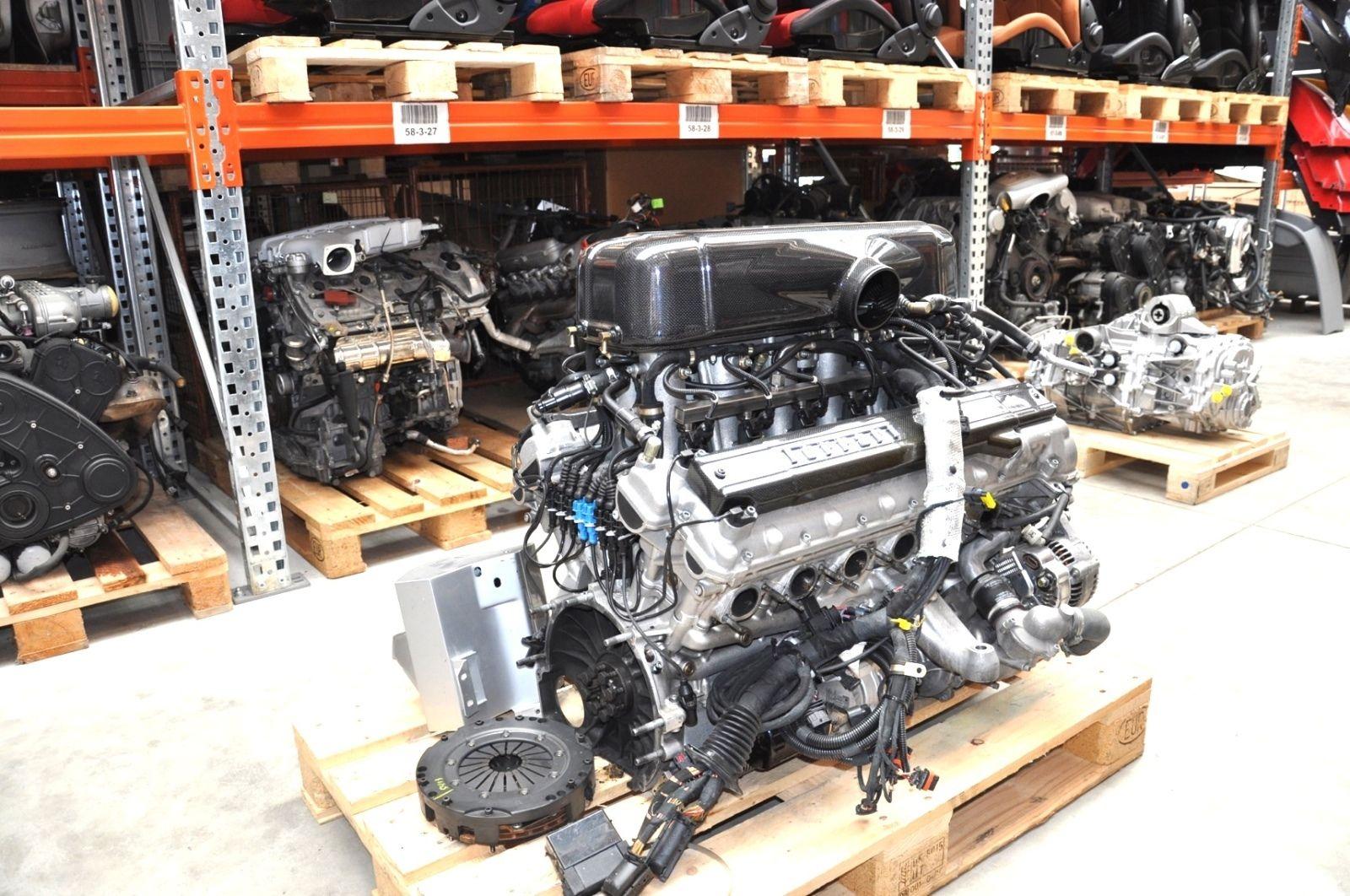 Ferrari Enzo V12 Engine Shows Up on eBay  autoevolution