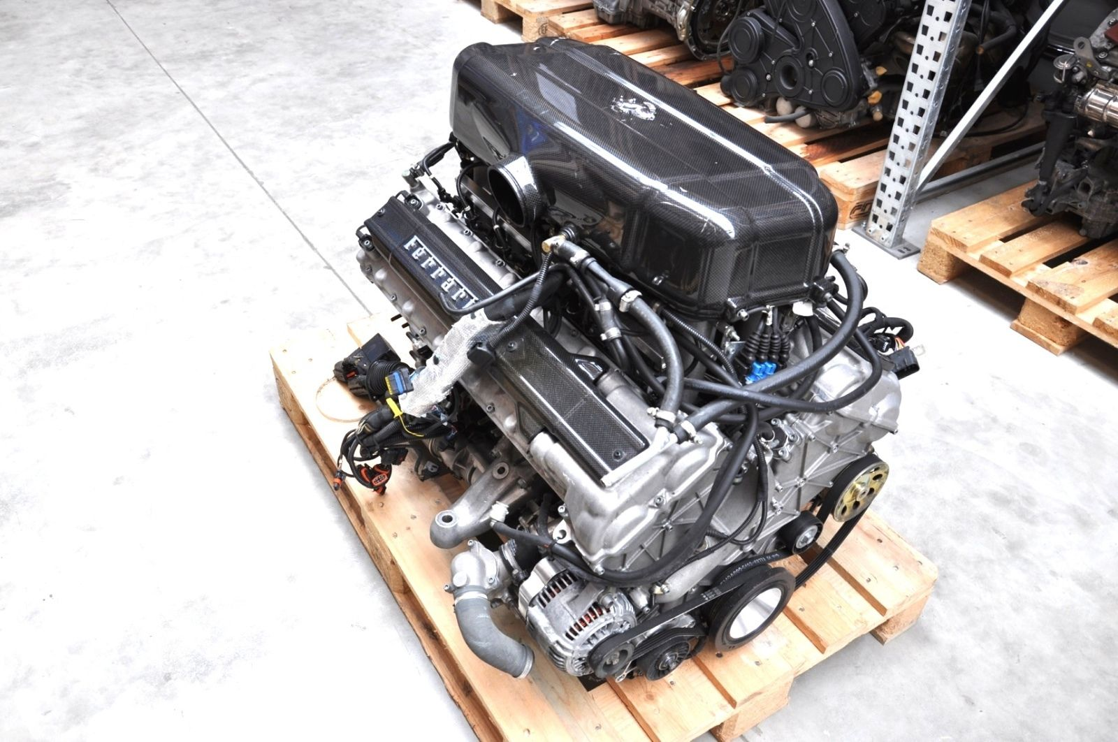 Ferrari Enzo V12 Engine Shows Up On Ebay Autoevolution