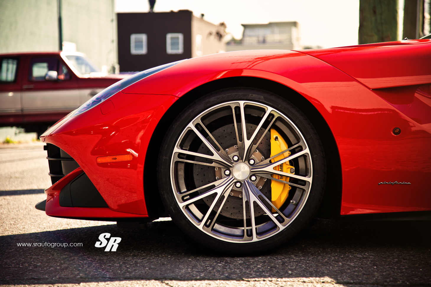 Ferrari F12 Berlinetta On Pur Wheels By Sr Auto