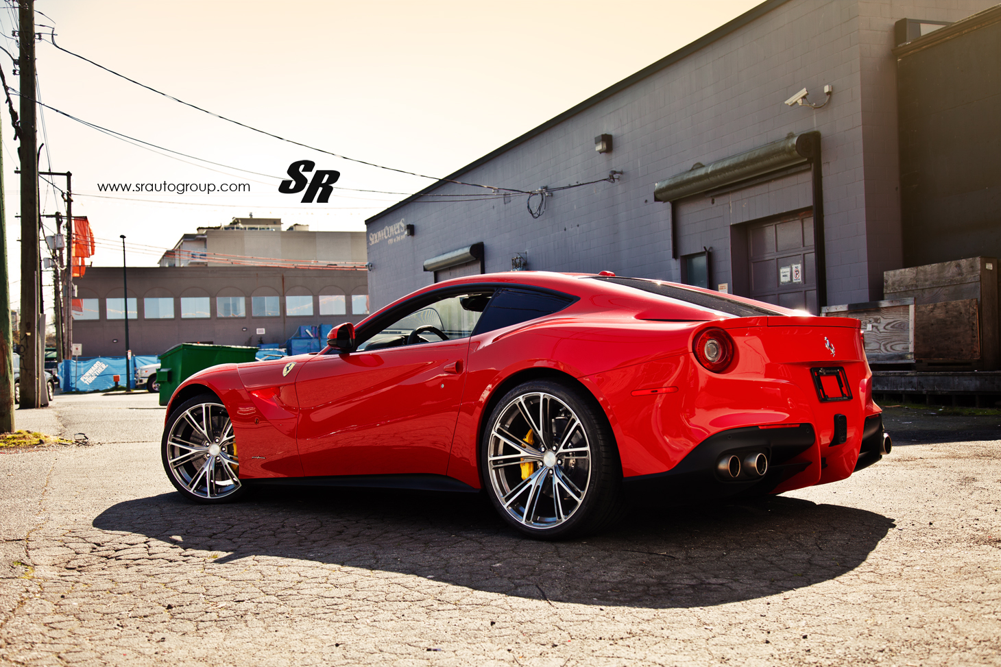 ferrari f12 berlinetta on pur wheels by sr auto autoevolution. Black Bedroom Furniture Sets. Home Design Ideas