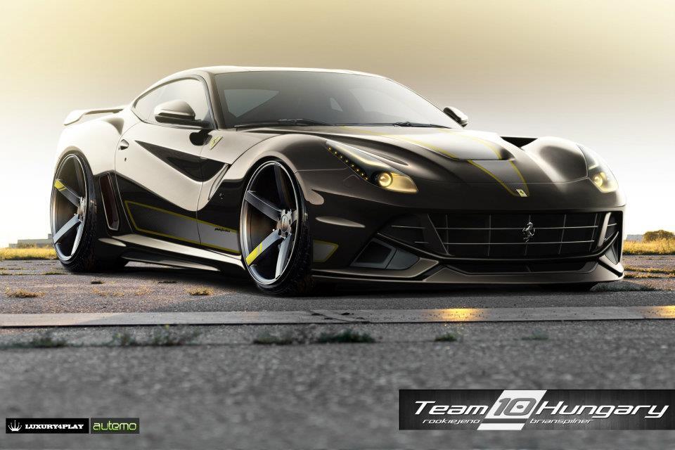Ferrari F12 Berlinetta Virtual Tuning Competition ...