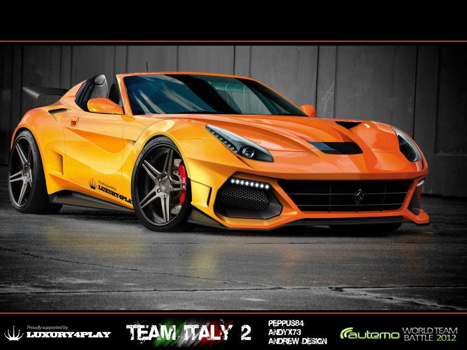Ferrari F12 Berlinetta Virtual Tuning Competition