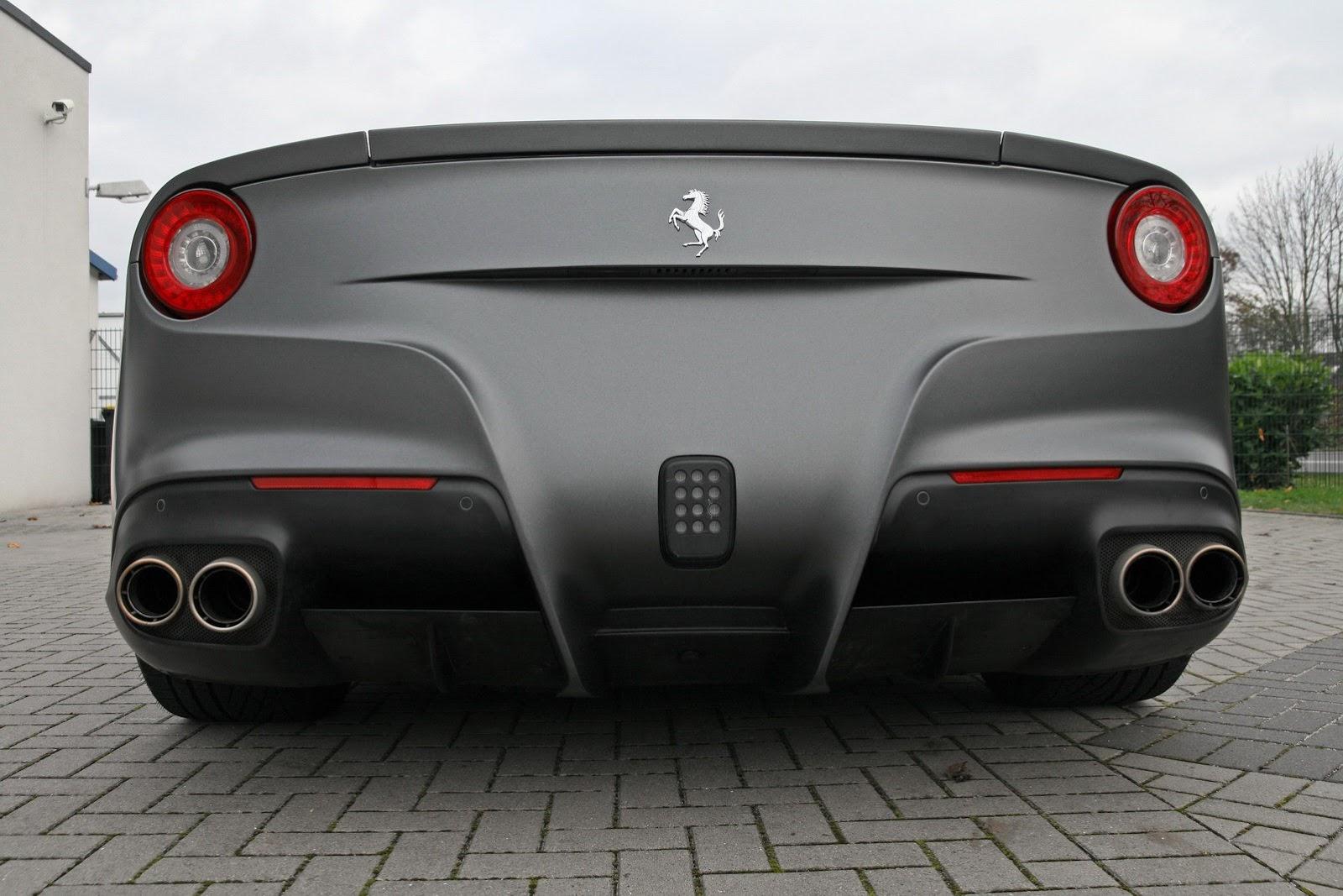 Ferrari F12 Berlinetta Wrapped By Cam Shaft Autoevolution