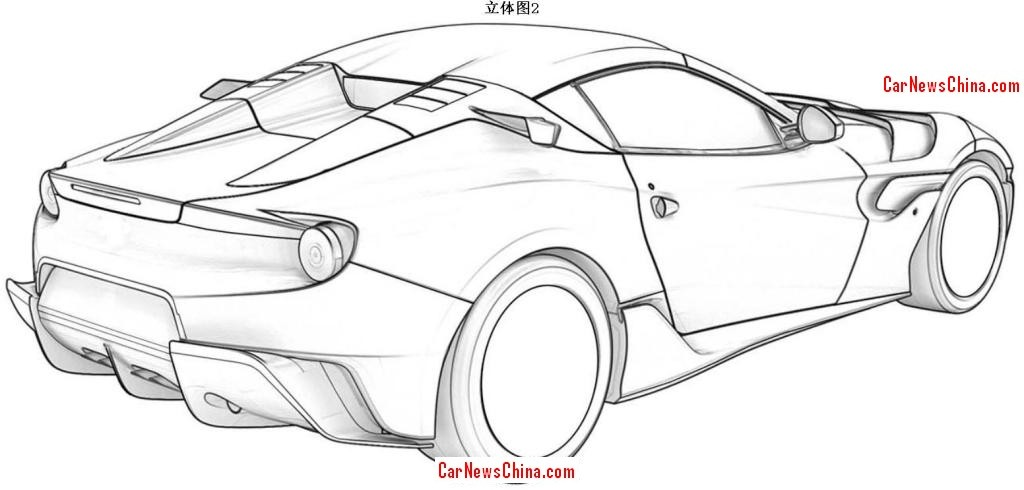 ferrari f12 patent images allegedly leaked  may be the