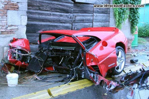 Ferrari F355 Crashed In Italy Autoevolution