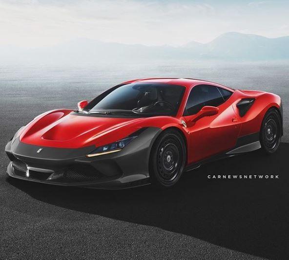 "Ferrari F8 Spider Silver: Ferrari F355 ""Half Body"" And The Renderings That Change"