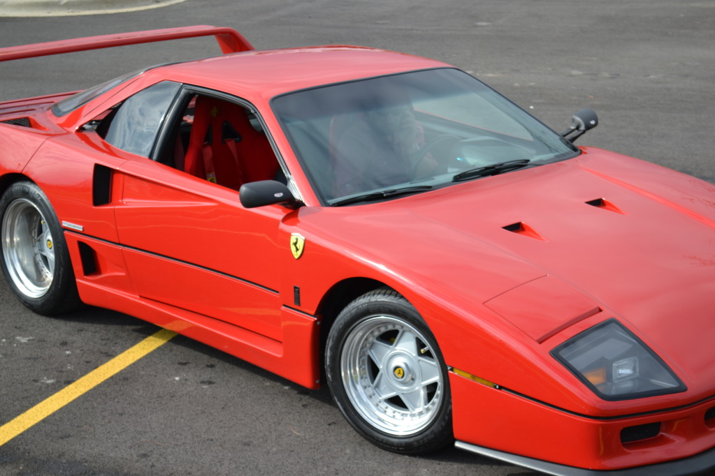 ferrari f40 replica based on pontiac fiero autoevolution. Black Bedroom Furniture Sets. Home Design Ideas