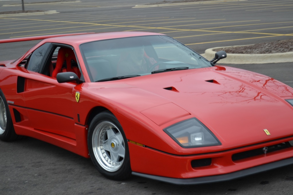 Ferrari F40 Replica Based On Pontiac Fiero Autoevolution