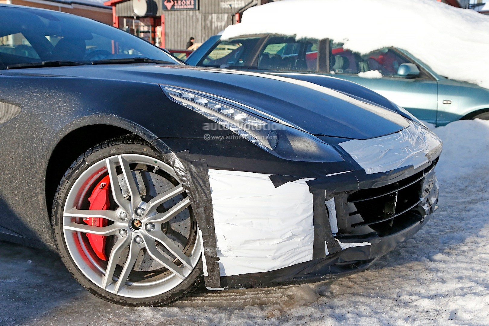 ferrari ff facelift spied in detail will arrive in 2016 with turbo v8 base model autoevolution - 2016 Ferrari 458 Replacement