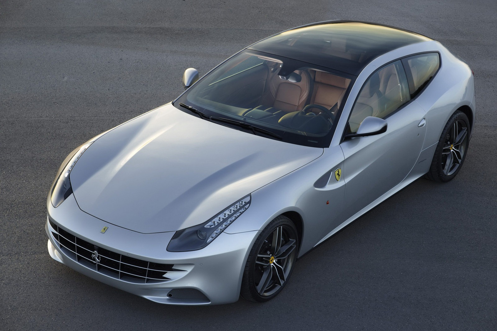 Ferrari FF Gets Full-Length Panoramic Roof in Paris ...