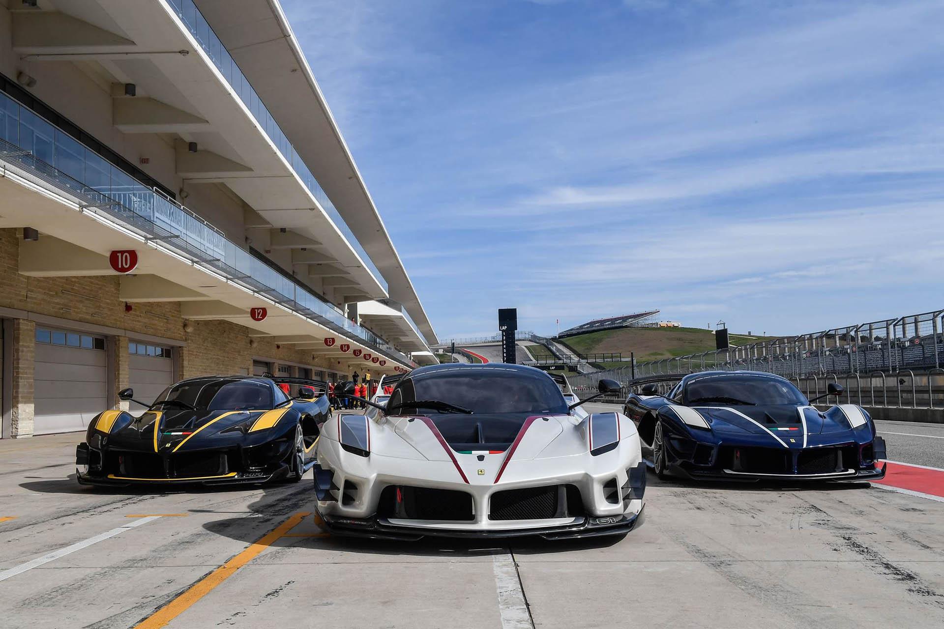 Ferrari Fxx K Evo Gets Down To Business At Cota Autoevolution