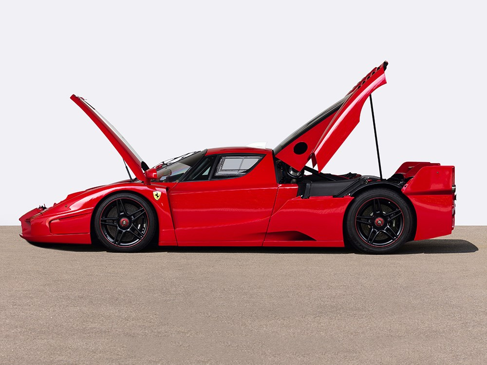 ferrari fxx signed by michael schumacher is waiting for. Black Bedroom Furniture Sets. Home Design Ideas