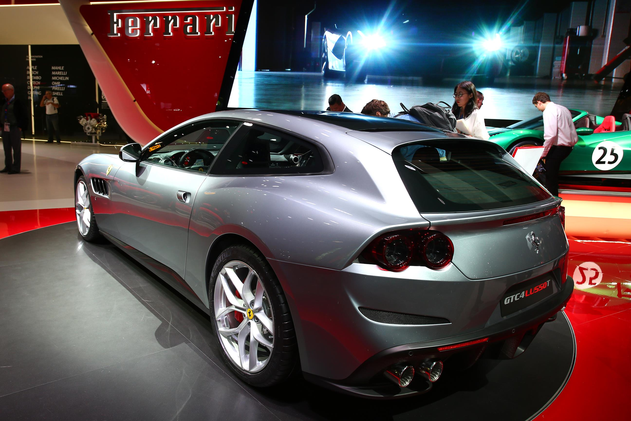 2017 Ferrari 488 Spider >> 2017 Ferrari GTC4Lusso T Adds Torque and Loses AWD in ...