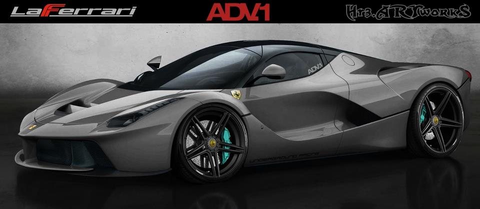 Ferrari Laferrari On Adv 1 Wheels Autoevolution