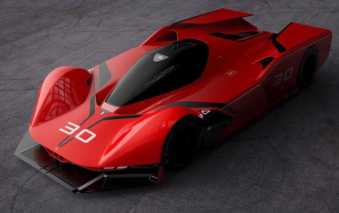 Ferrari Le Mans Hypercar Rendered, Shows Stunning ...