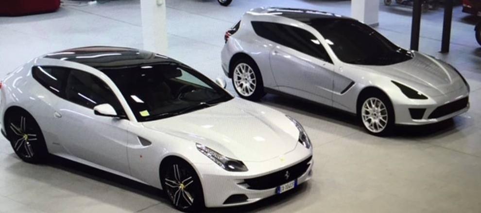 Ferrari Crossover Proposal By Giugiaro