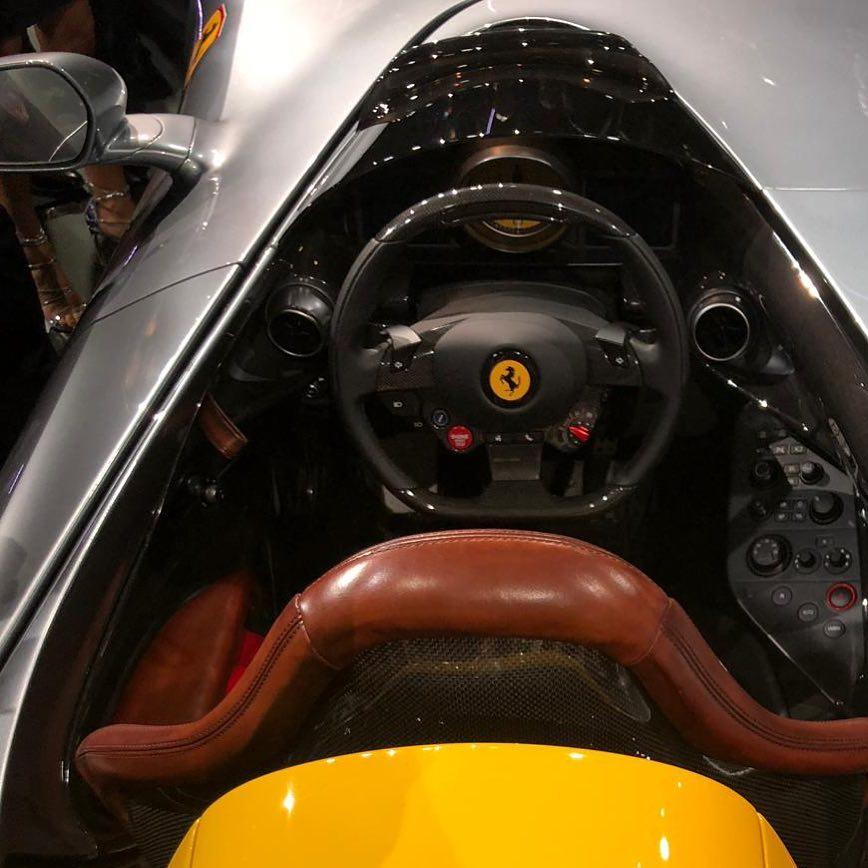 2019 Ferrari Monza Sp1 Revealed Alongside Monza Sp2