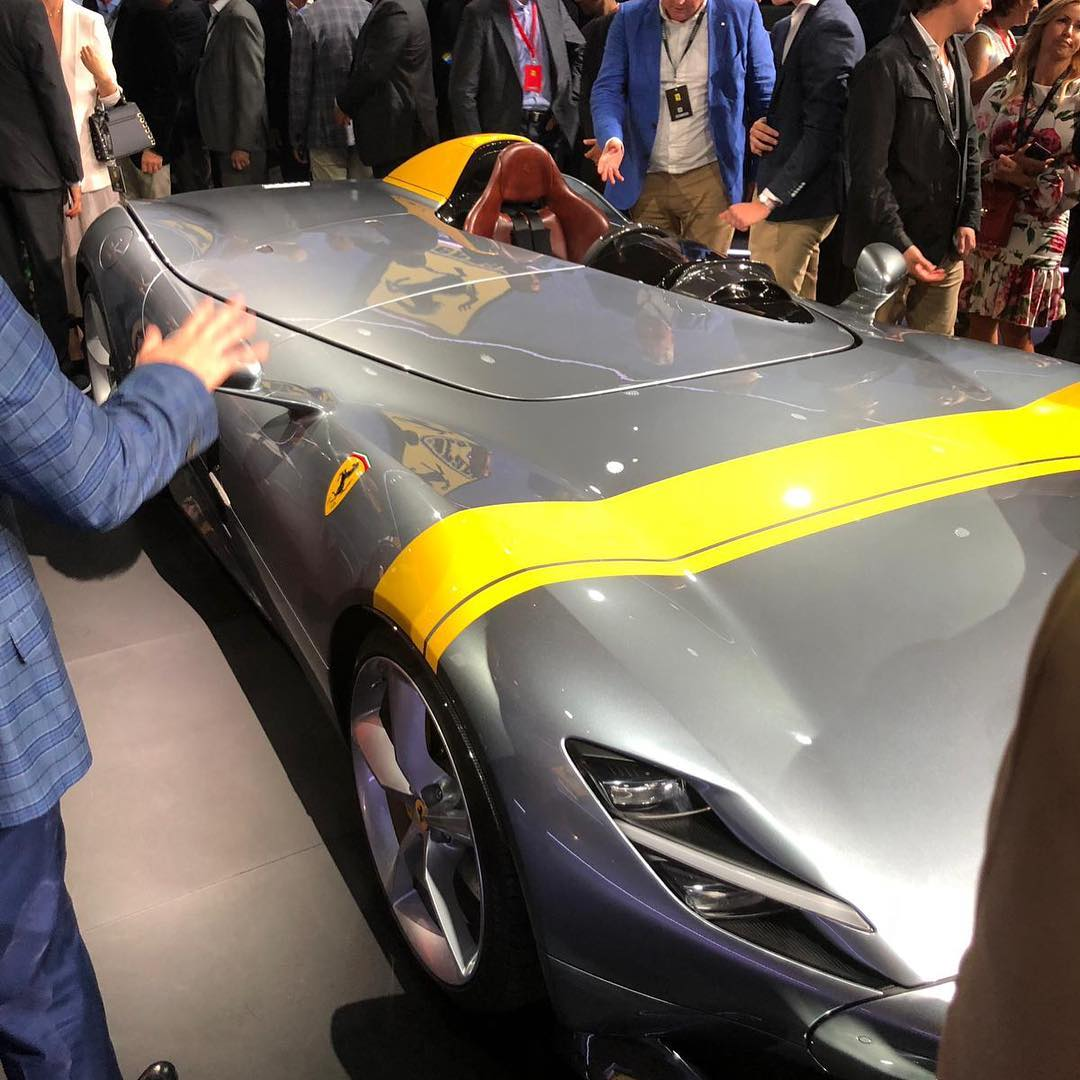Ferrari Monza: 2019 Ferrari Monza SP1 Revealed Alongside Monza SP2