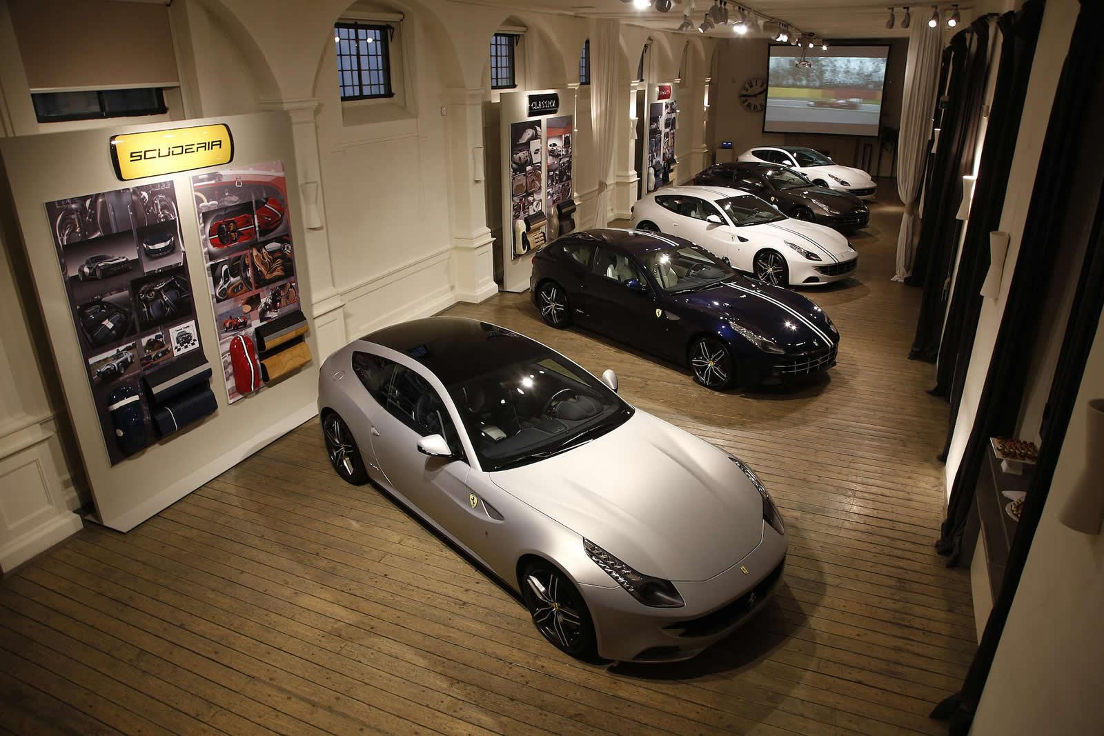 Ferrari Tailor Made Program Showcased By Select Group Of