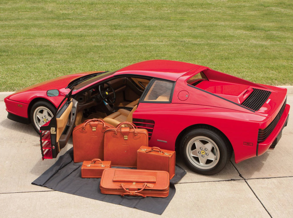 Ferrari Testarossa With 95 Miles On The Clock Heading To
