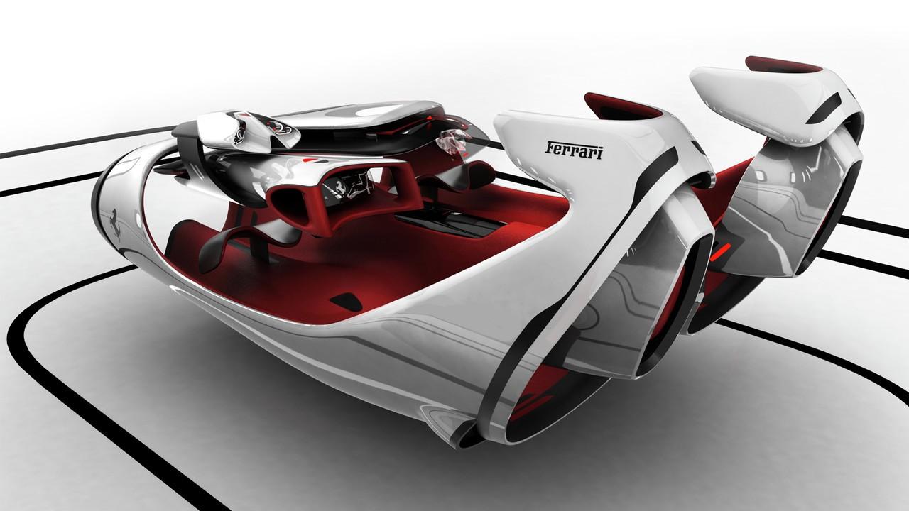 Design car contest - Ferrari Top Design School Contest Fl By Roman Egorov Special Distinction