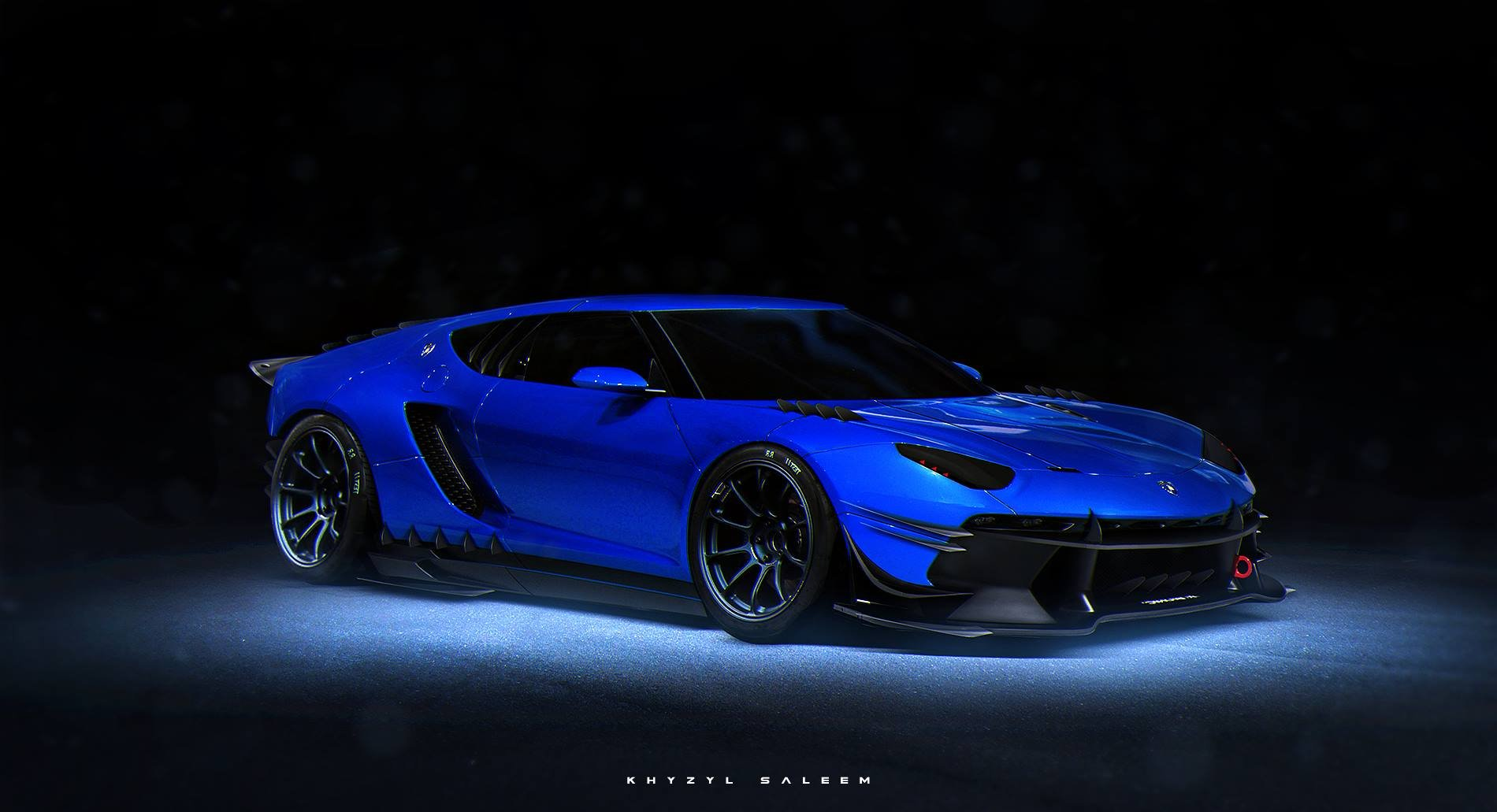 Ferraris Lamborghinis And Mclarens Rendered As
