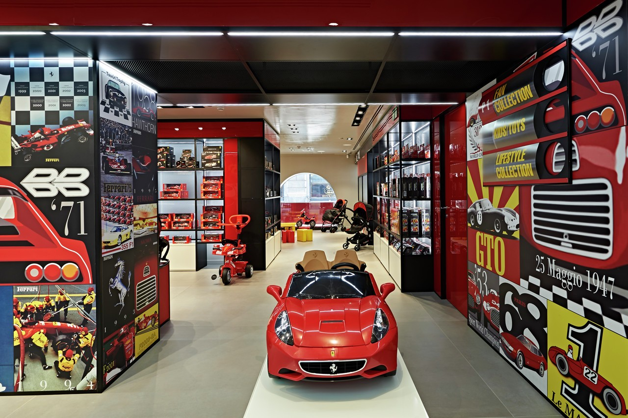 Ferrari's New Store Is a Mini-Disneyland for Race Enthusiasts, Has
