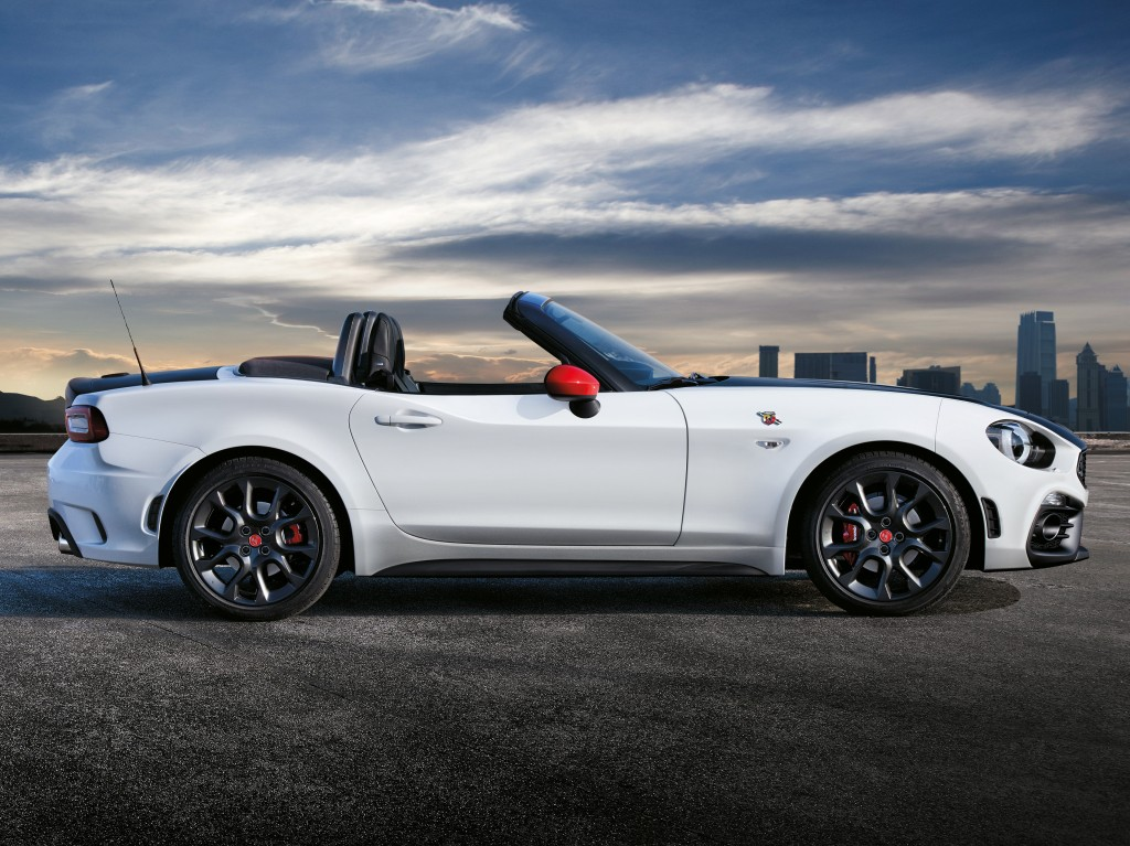 2017 fiat 124 spider launched in europe abarth priced at. Black Bedroom Furniture Sets. Home Design Ideas