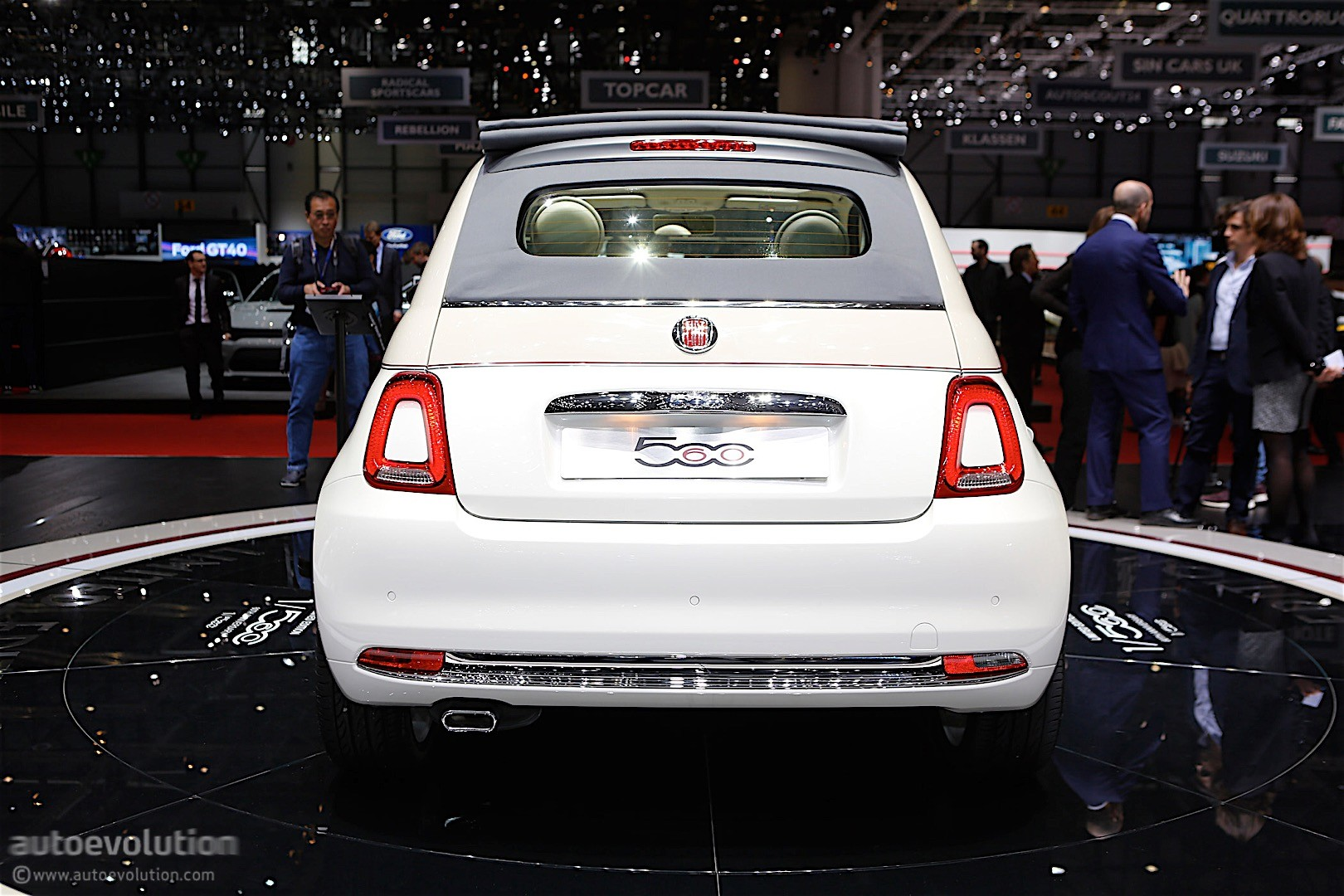 Fiat 500 60th Anniversary Edition Launched In Geneva