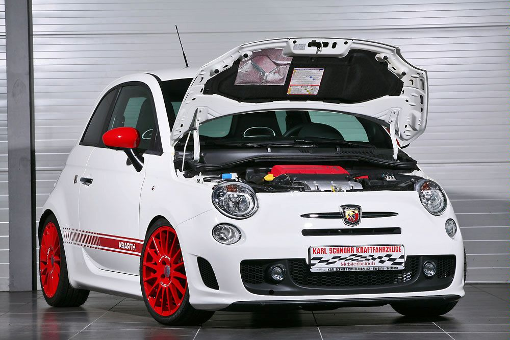 Fiat Abarth Tweaked By Karl Schnorr Kraftfahrzeuge