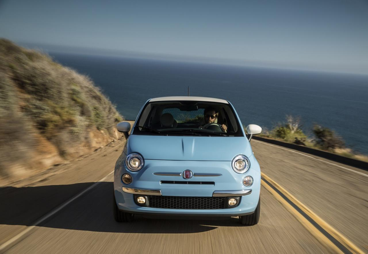 fiat 500 cabrio will drop its top in new york autoevolution. Black Bedroom Furniture Sets. Home Design Ideas