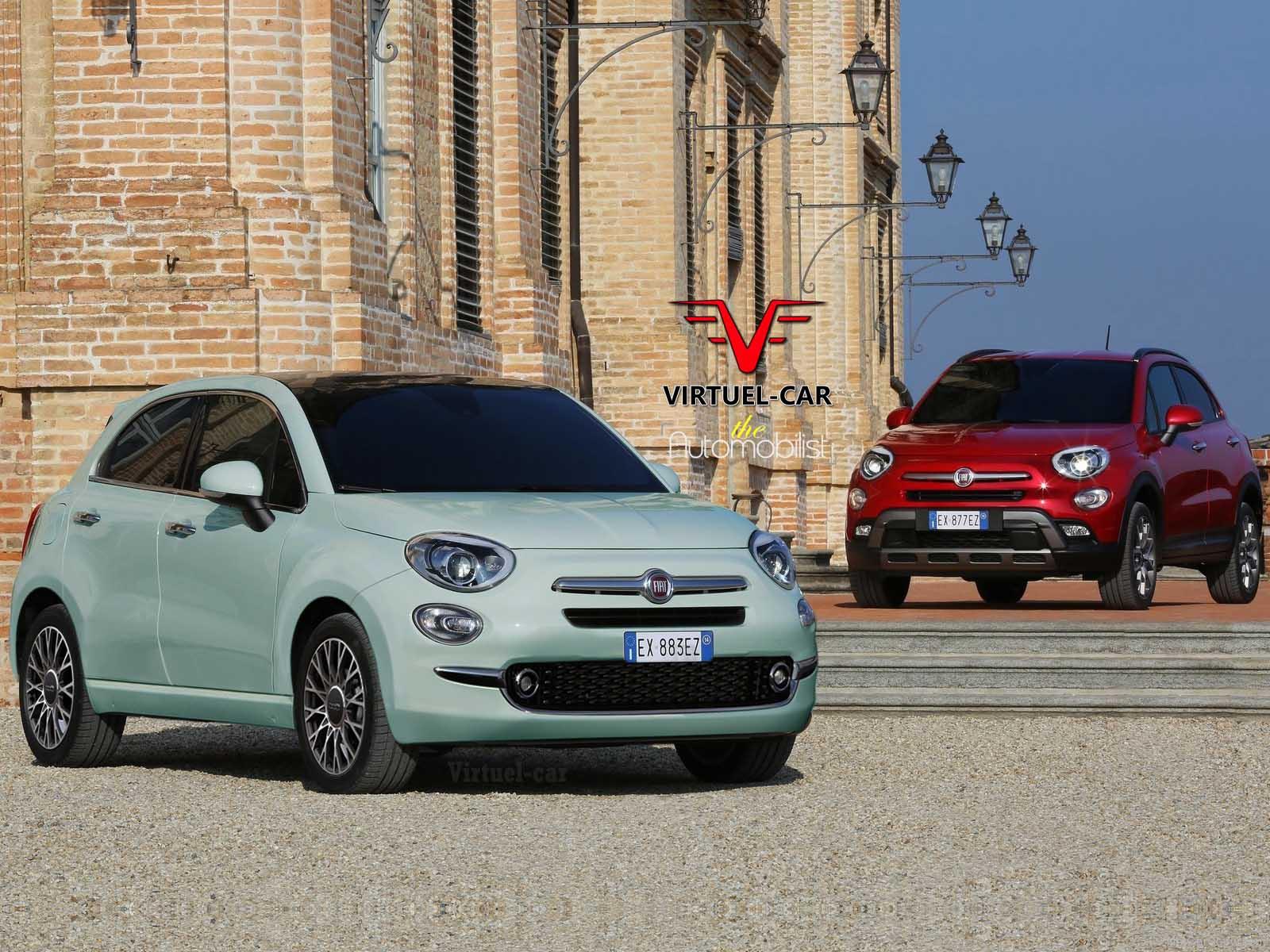 next-generation fiat 500 could get four-door version named 600