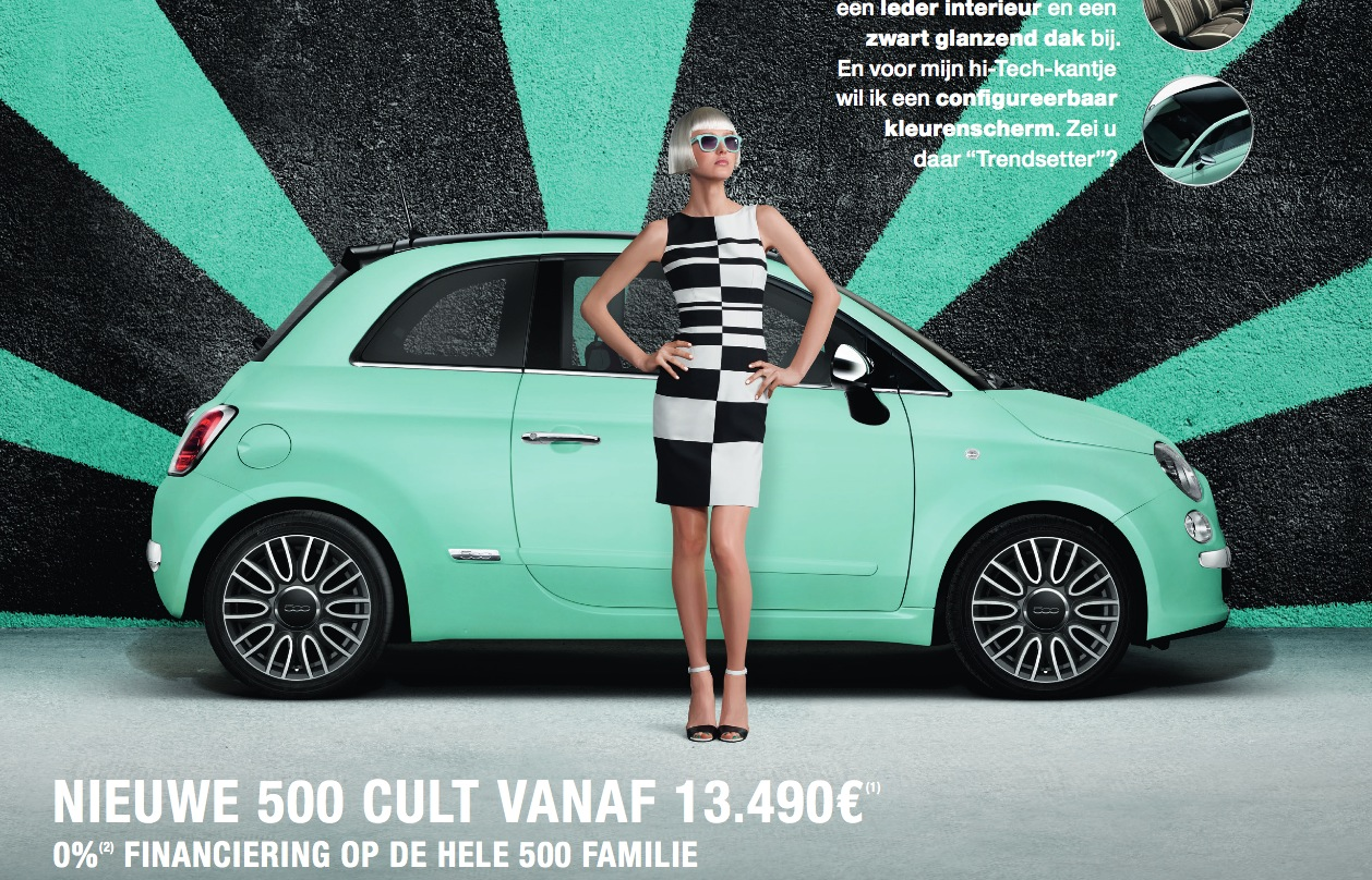 Fiat 500 Cult Commercial Says The Size Of Your Yacht