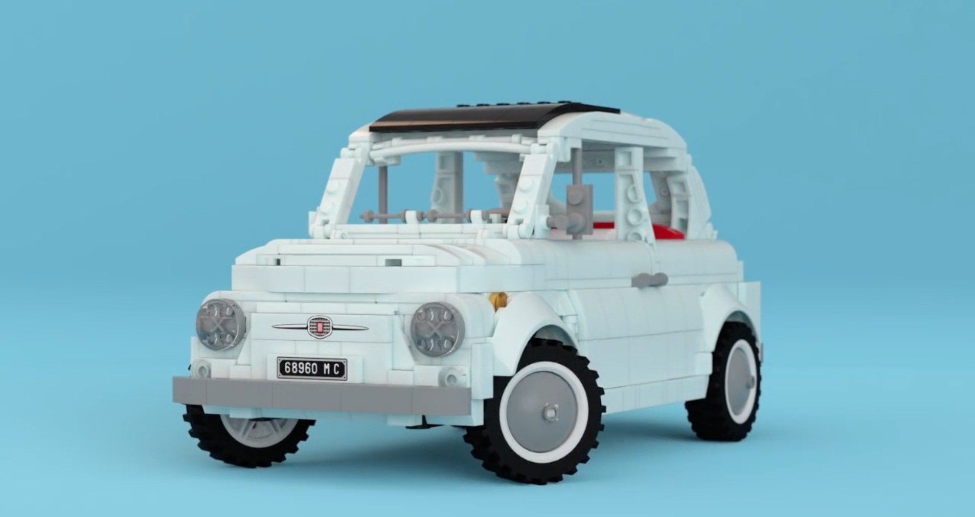 Two fiat 500 fans propose lego version of classic model for Modele maison lego classic
