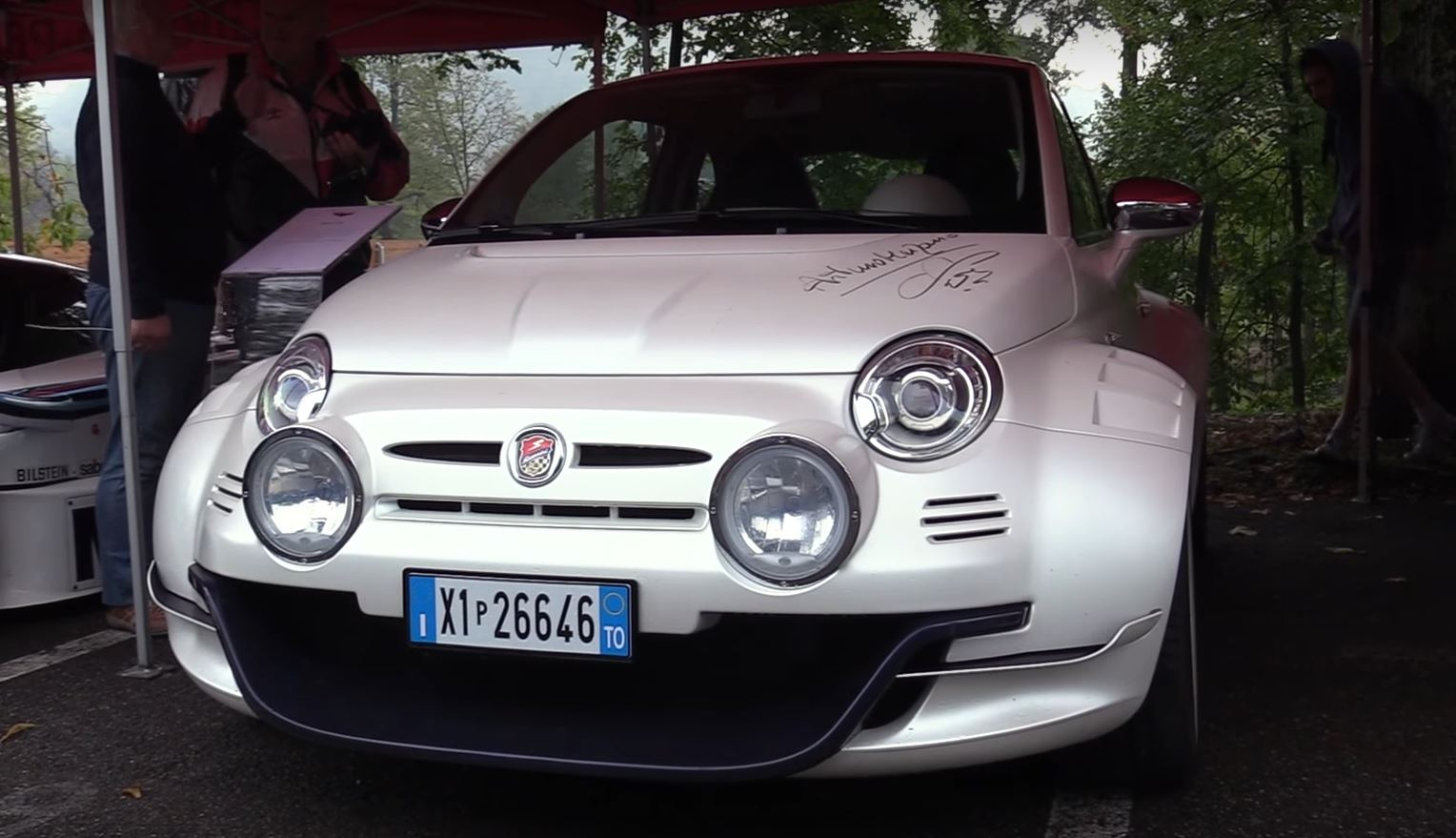 cinquone fiat youtube abarth watch extreme stradale horsepower