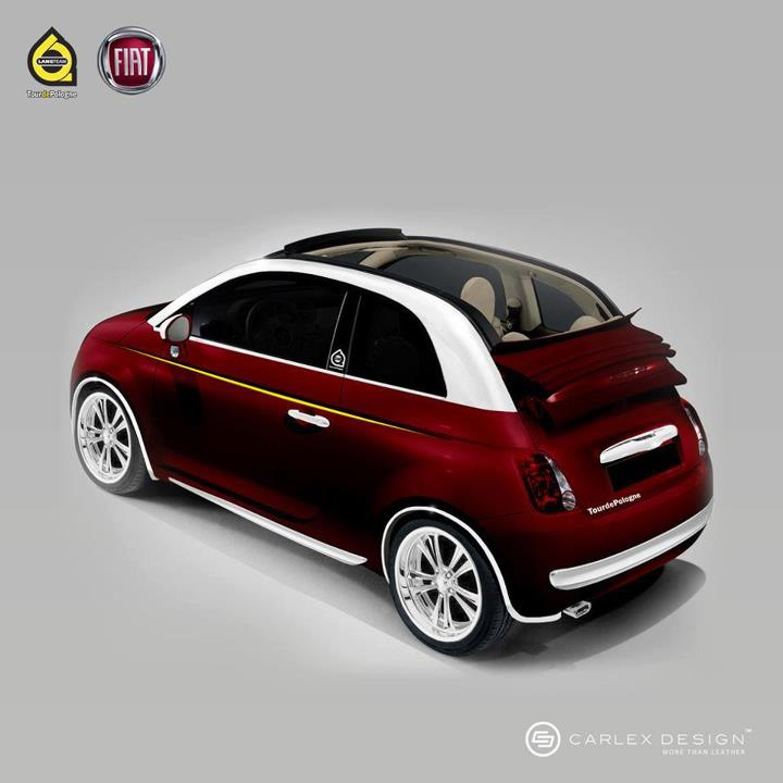 fiat 500c by wrapstyle and carlex design autoevolution. Black Bedroom Furniture Sets. Home Design Ideas