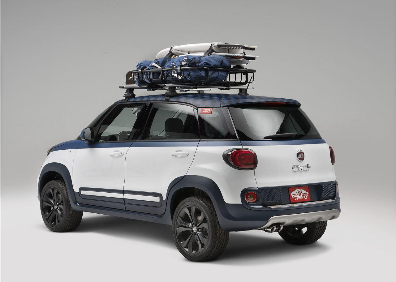 Fiat 500l Vans Concept Goes With The Flow Autoevolution