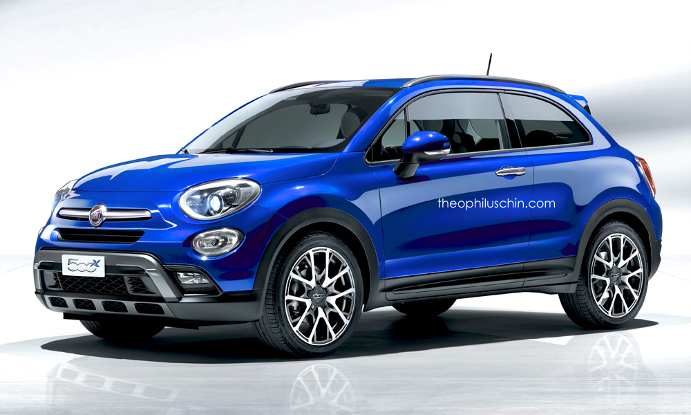 Fiat 500x Coupe Crossover Needs To Happen Autoevolution