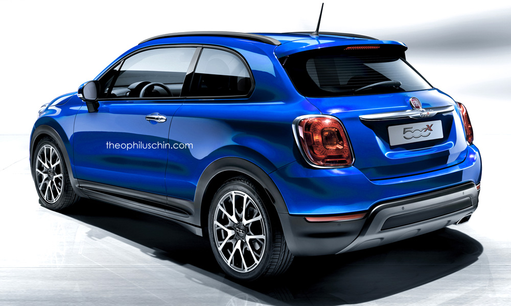 fiat 500x coupe crossover needs to happen autoevolution. Black Bedroom Furniture Sets. Home Design Ideas