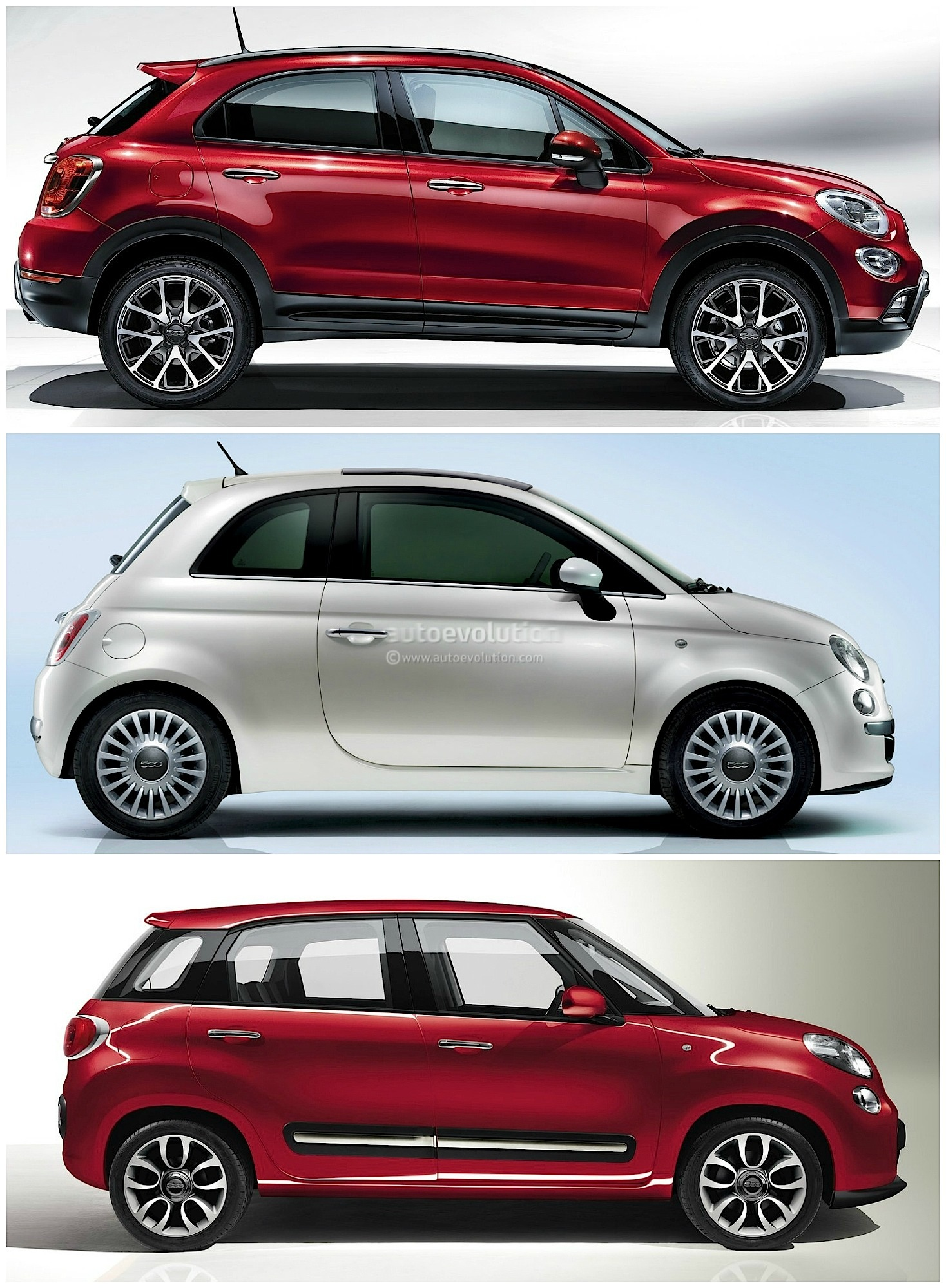Fiat 500x Vs 500l Vs 500 Italian Family Comparison